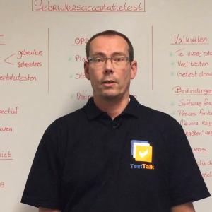 Gebruikersacceptatietest - Test Talk whiteboard
