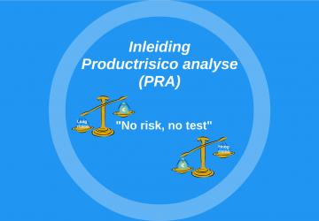 E-learning training productrisico analyse