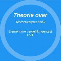 Elementaire vergelijkingentest (EVT)